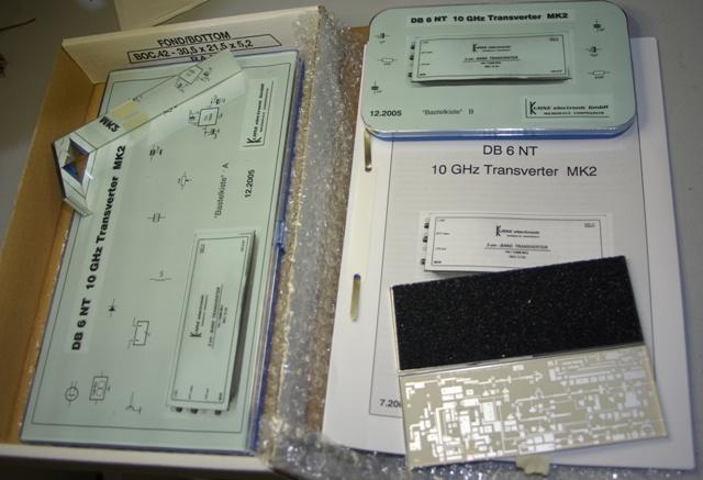 VK5ZD - Notes on the DB6NT 10GHz Transverter Kit